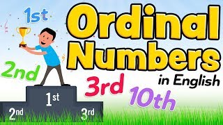 Ordinal numbers in English