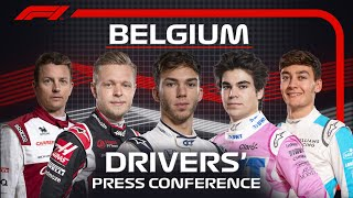 2020 Belgian Grand Prix: Press Conference Highlights