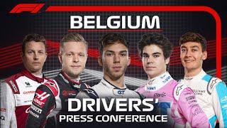 2020 Belgian Grand Prix: Press Conference Highlights