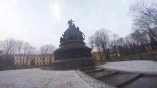 Памятник тысячелетия России и Новгородский Кремль(, 2014-11-10T14:32:19.000Z)