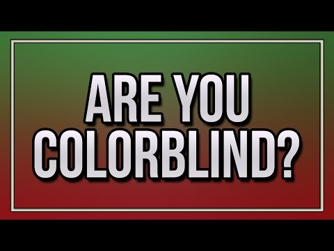 Thumbnail: Are You Colorblind?