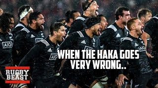 When the haka goes wrong..