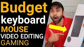 Budget HP Keyboard, Mouse combo for Video Editing & Gaming | Computer Keyboard Mouse