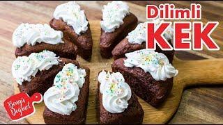 Yumuşacık Dilimli Kek Nasıl Yapılır? Kakaolu Nefis Kek Tarifi (Kolay Kek Tarifleri)