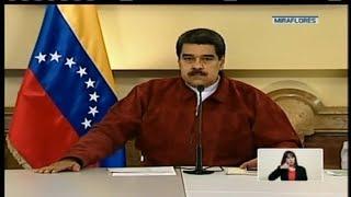 Presidente Nicolás Maduro presenta balance del nuevo plan económico  22/08/2018