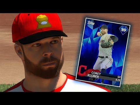 DIAMOND COREY KLUBER DEBUT!! MLB THE SHOW 18 DIAMOND DYNASTY