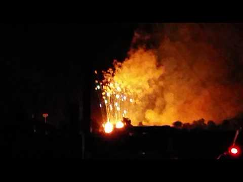 Awesome firework display from Waldron Indiana! 7/7/2018