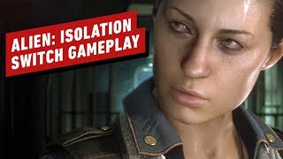The First 16 Minutes of Alien: Isolation Nintendo Switch Gameplay