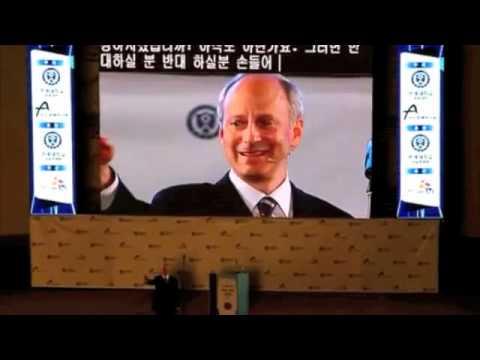 Michael J. Sandel at Yonsei University in Seoul, South Korea - 2012 June 1