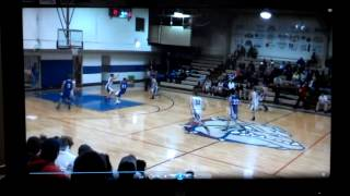 Stuart Grant Basketball highlight Montana 2014
