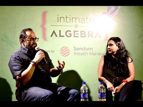 Rajeev Chandrasekhar @Algebra