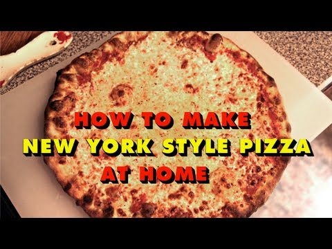 NY Style Pizza at Home