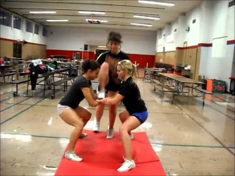 Coquille High School Cheerleading Halftime 2012