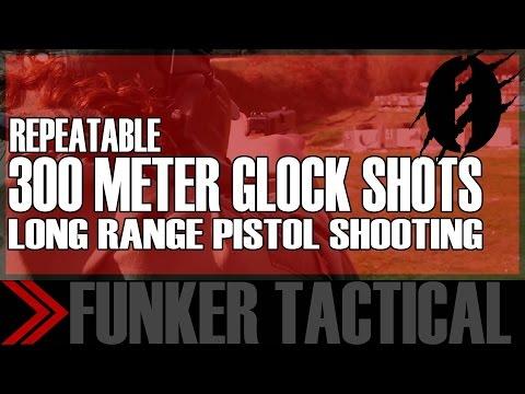 Long Range Shooting with Glock Pistol | Instructor Zero