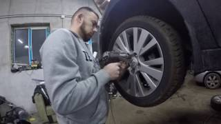 ШУМОИЗОЛЯЦИЯ(noise insulation) арок МАзда 6 (Mazda 6)