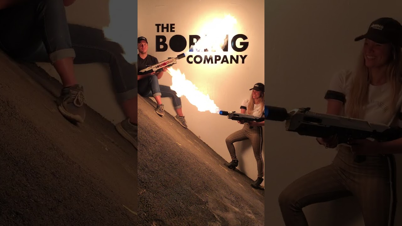 Not A Flamethrower — The Boring Company