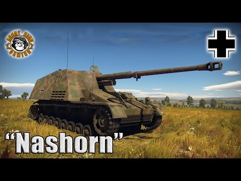 "War Thunder: The ""Nashorn"", German Tier-3, Tank Destroyer"