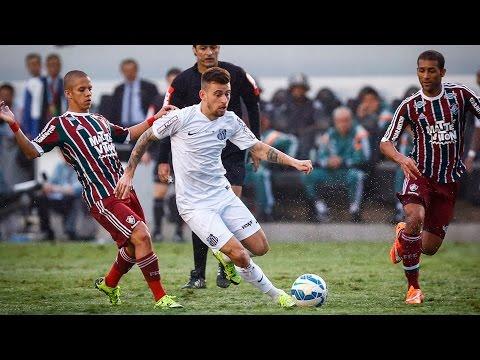 Santos 3 x 1 Fluminense | MELHORES MOMENTOS | Brasileirão (04/10/15)