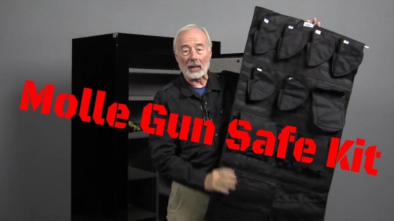 extras organizer we gun installed watch doors door safe youtube winchester with