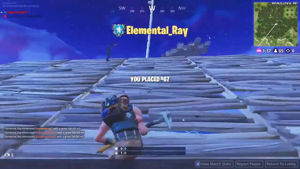 48 Killed During Rocket Launch Solo World Record In Fortnite Battle