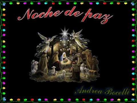 NOCHE DE PAZ   *Andrea Bocelli* (en Español)