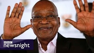 Is South Africa getting fed up with President Jacob Zuma?  BBC Newsnight