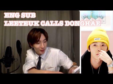 [ENG SUB] DJ Leeteuk Calling Out To Sleepy Donghae #동해와_함께_HARMONY #Donghae_harmony