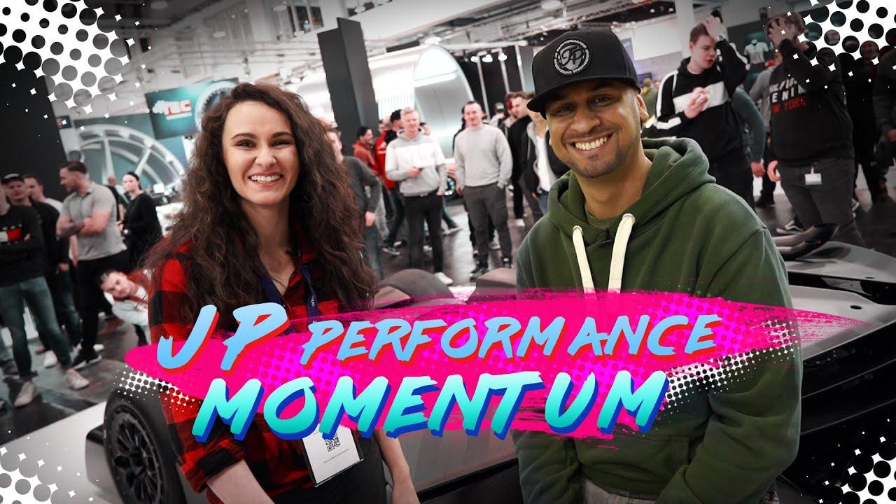JP Performance Interview   Premiere Momentum   Essen Motor Show 2019