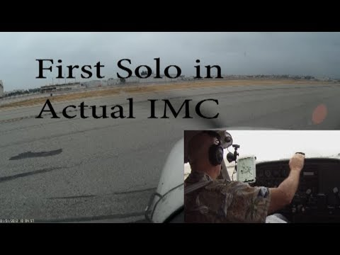 First IFR Solo Approaches after Instrument Rating