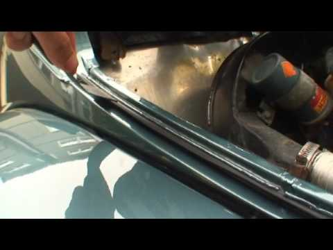 Classic Vw Beetle Bug How To Replace Decklid And Hood Seal