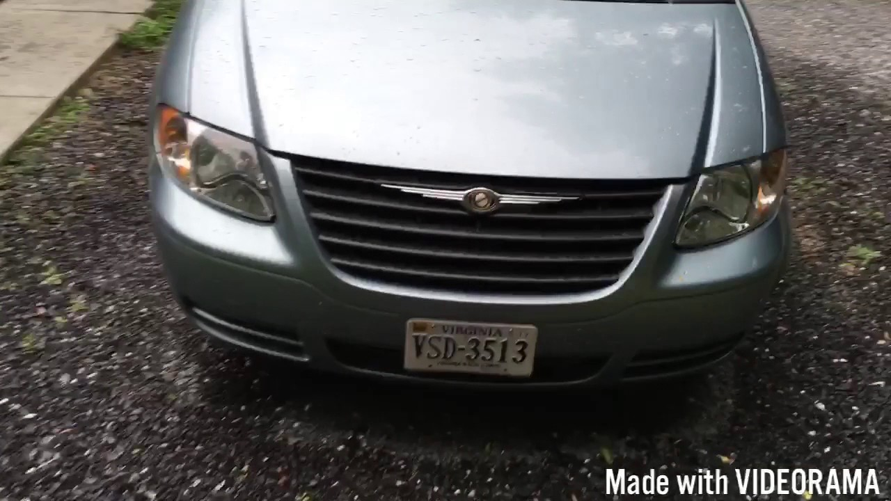 Rear Window Washer Not Working  05 Chrysler Town  U0026 Country