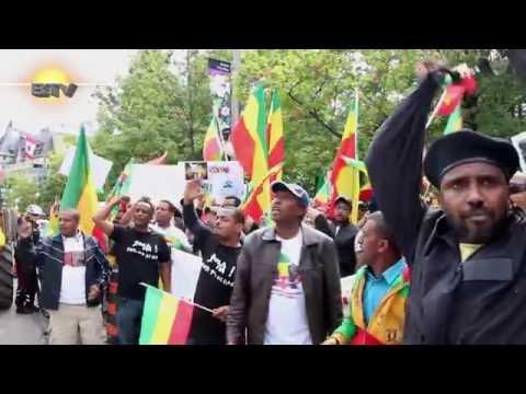 Demonstration Against Ethiopian Government Ottowa Canada  * Berhan TV*