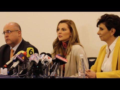 Conferencia de prensa Marjorie de Sousa
