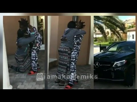 Kodak Black mom breaks down after he buys her a new car after spilling honey mustard in her old car