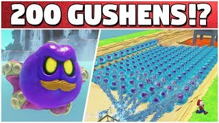 What If We Have 200 GUSHENS IN THE SAME ROOM?! | Super Mario Modyssey
