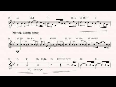 Guitar- Jurassic Park Theme -John Williams -Sheet Music, Chords, & Vocals