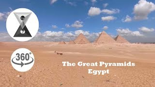 The Great Pyramids, Egypt In 360