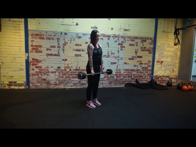 Geelong's Gym Coaches Corner - How to perform a stiff legged deadlift