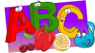 ALFABET warzywno-owocowy    DrobNutki    Piosenki DLA DZIECI