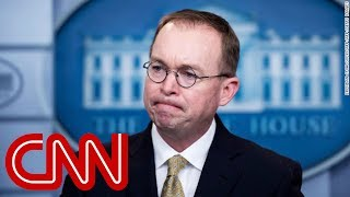 Trump names Mick Mulvaney acting chief of staff