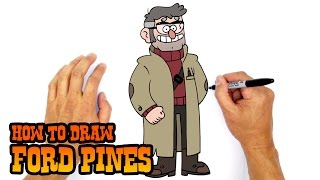 How to Draw Ford Pines | Gravity Falls