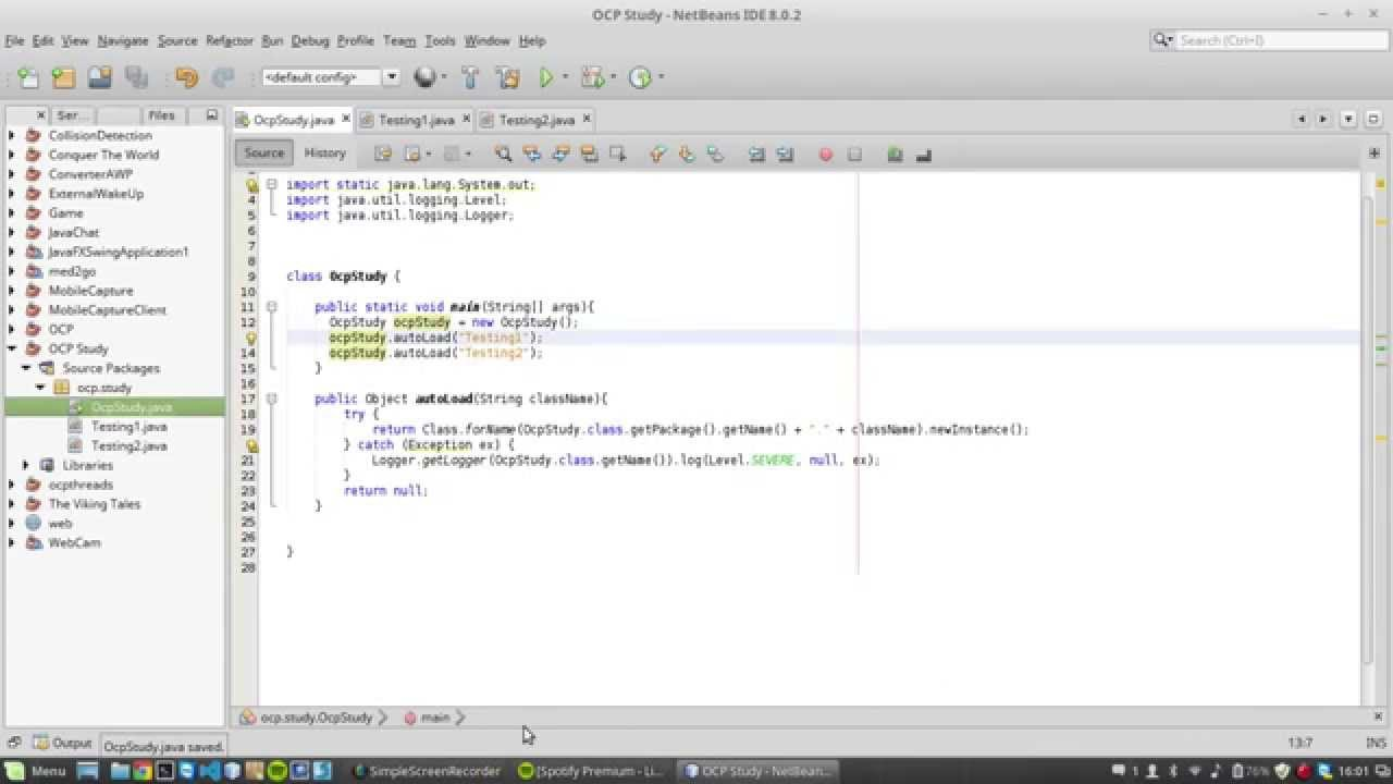 how to create new instance of class in java