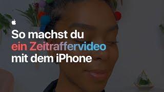 So machst du ein Zeitraffervideo mit dem iPhone