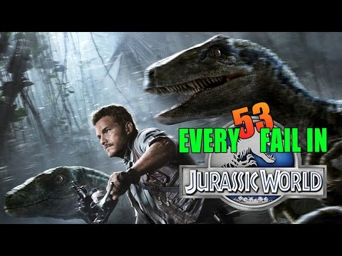 Every Fail In Jurassic World | Everything Wrong With Jurassic World, Mistakes and Goofs