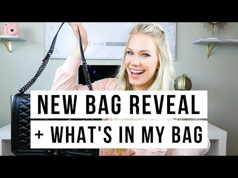 NEW HANDBAG REVEAL + WHAT'S IN MY BAG