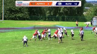 London Blitz Juniors v Bristol Aztecs Juniors -- Junior Contact South -- 24th June 2012