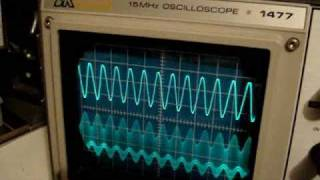 EICO 324 Signal Generator Amplitude Modulation micro AM-broadcast