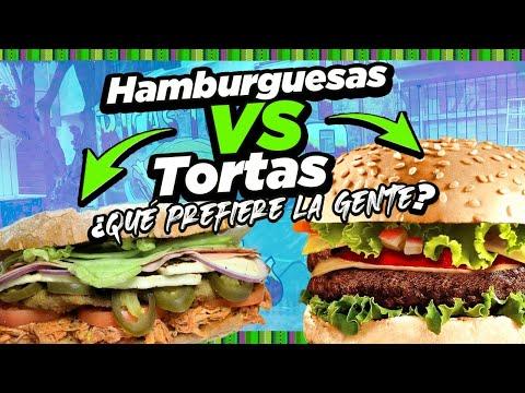 ¿Qué prefieren los Garnacheros?Hamburguesas vs Tortas