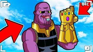 Je suis INEVITABLE! Je deviens Thanos à Roblox