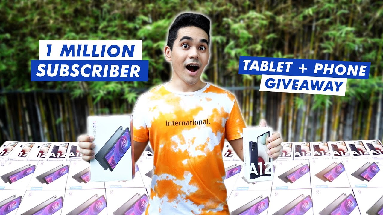 1 MILLION SUBSCRIBERS PHONE AND TABLET GIVEAWAY!   HASH ALAWI